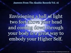 Answers From Vol. 16 of The Akashic Records with Aingeal Rose & AHONU at http://worldofempowerment.com