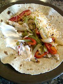Kari Burghardt: Healthy Chicken Fajita Bake