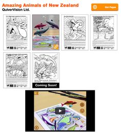 14 Best Augmented Reality Coloring Sheets Images On Pinterest