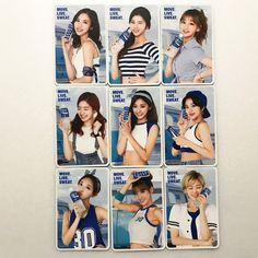 Twice Memorabilia for sale Twice Mv, Pocari Sweat, 30th Anniversary, One In A Million, Photo Cards, Polaroid Film, Kpop, Actresses, Ads