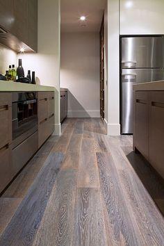 59 ideas flooring timber oak for 2019 Unique Flooring, Timber Flooring, Hardwood Floors, Royal Oak Floors, French Oak, French Grey, Doors And Floors, Walk In Pantry, Elegant Homes