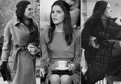 "Love Story, 1970 Ali MacGraw's prepster wardrobe rivaled that of her so-called ""preppy"" beau. Quirky Fashion, Vintage Fashion, Love Story Movie, Preppy Style, My Style, Great Love Stories, Girls Rules, Fashion Images, Role Models"