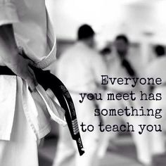 """""""Everyone you meet has something to teach you"""" – unknown  #inspiration #quote"""
