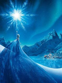 thedisnerd:  ▣ Frozen(2013) movie poster   I SO want to draw this oh my gosh it's gorgeous!!!