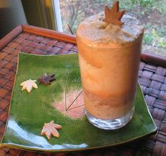 TWO TEA SUMMER SMOOTHIE. You can layer these 2 smoothies in a glass for a pretty rainbow effect, or you can serve them separately.