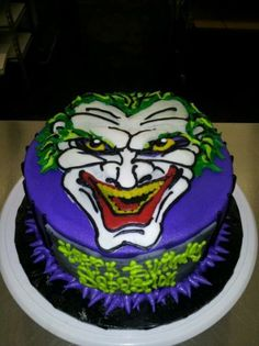 Joker themed cakes / Joker cake