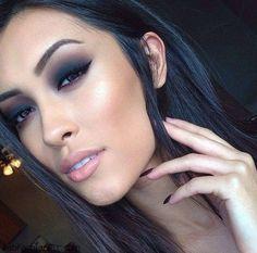 Luminous flawless foundation and smokey eyes makeup inspiration