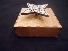 Music Box Small, Cute as can be Hand Made- Pesonalized by richardglass1 on Etsy