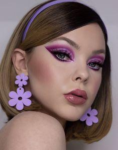Retro Makeup, Edgy Makeup, Makeup Goals, Makeup Inspo, Makeup Art, Makeup Inspiration, Beauty Makeup, Cute Makeup Looks, Makeup Designs
