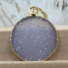 Tons of new druzy pendants just listed!!