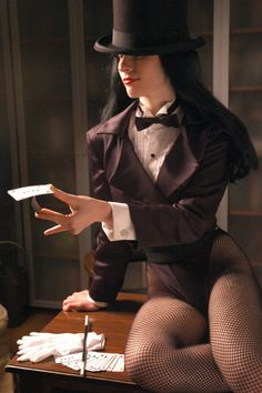 Character: Zatanna Zatara / From: DC Comics / Cosplayer: Ms.Mars