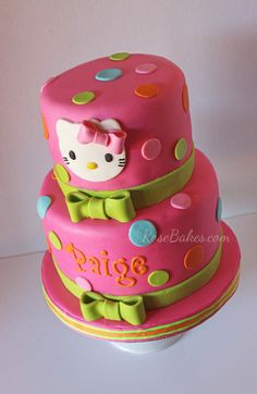 9 Best Baobab Favourite Cake Designs Hello Kitty Images