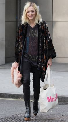 Stella boots, vintage kimono jacket and Duran Duran T                                                                                                                                                                                 More