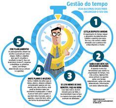 A meta-coaching Raquel Couto acredita que, com organização, é possível desenvolver mais tarefas dentro do mesmo prazo. (01/08/2016) #Coaching #Tempo #Planejamento #Organização #Ocio #Infográfico #Infografia #HojeEmDia
