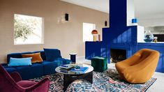 The Design Files – The Dulux 2020 Colour Forecast Is Revealed! Styled by Bree Leech. Dulux Australia, Vogue Australia, Blue Palette, Paint Brands, The Design Files, Slow Living, Interior Walls, Interior Painting, Interior Design