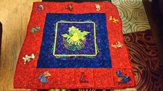 Baby quilt for Thayne