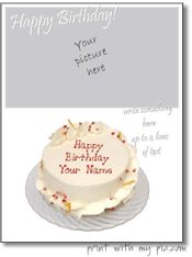 Birthday cards to print add your own photo birthday card templates tons of free printable a with your own pictures includes calendars nice birthday card makerbirthday bookmarktalkfo Gallery