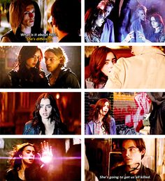 The rune drawing: doesn't happen til like book 3 or 4. Freezing the portal: doesn't happen. Valentine and demons at the institute: doesn't happen at the institute. Simon NOT getting turned I to a rat: he gets turned into a rat! Hodge giving Valentine the idea Jace and Clary are related: doesn't happen. You Mundanes didn't have to freak out like we did..Waiting til CoG to find out they aren't related. Clary giving Valentine the fake cup: he never even gets it in CoB.