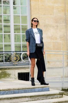 The chicest street style from Paris Fashion Week Spring 2018: