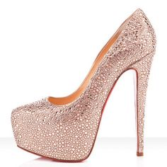 Louboutin Daffodile 160mm heller Pfirsich0 #redbottomshoes