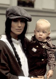 Cher with Elijah Blue