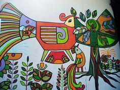 Street art of La Palma in El Salvador.  #streetart #elsalvador #centralamerica