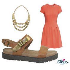 Outfit mod. 5091 en cuero #ootd #isteriashoes #fashion #trends #women #wear