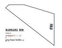 Project Nursery - Free Bandana Bib Pattern