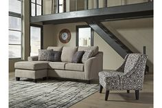 Kestrel Sofa Chaise | Ashley Furniture HomeStore Couch With Chaise, Chaise Cushions, Chaise Sofa, Queen, At Home Store, Modern Sofa, Sofa Set, Small Living, Great Rooms