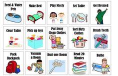 Printable Chore Chart – UpsideDown Kate