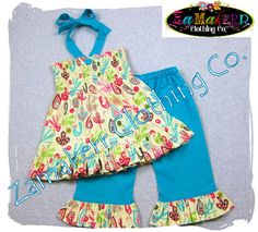 Girl Toddler Clothes Baby Custom Boutique by ZamakerrClothingCo, $43.99