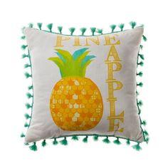 Adairs Kids Fruit Salad Cushion Pineapple, kids cushions, cushions for kids #adairskids