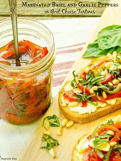 Marinated Basil and