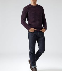 For unrivalled style and comfort, discover and shop our new-season men's knitwear to elevate your core repertoire. Reiss, Bordeaux, Knitwear, Jumper, Turtle Neck, Knitting, Sweaters, Jackets, Men