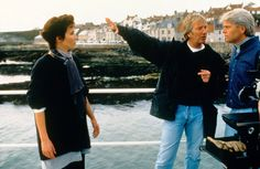 Alan directing the Winter Guest movie, 1997