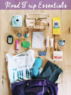 Road Trip Essentials - perfect for your next long haul car ride. #travel #wanderlust