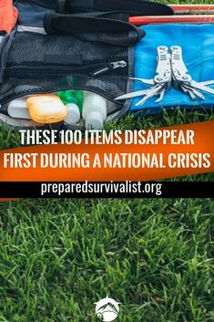 When disaster strikes you have to be prepared. This is why we are always on the lookout for survival essentials that we can store in case SHTF. But what items do we need to store exactly? these 100 items are vital to any survival kit, bug out bag or emerg