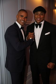 Shemar & LL. Your crush and mine. Together. In suits. *swoon* @Candice McKinney