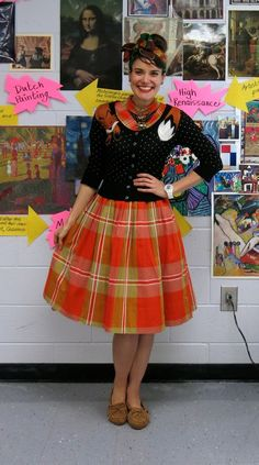 Cassie Stephens: What the Art Teacher Wore #148