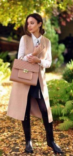 Наталя Сербіна Lange Weste Outfit, Weste Outfits, Lange Unterhemden,  Klassische Outfits, Jacken 1a88b686de