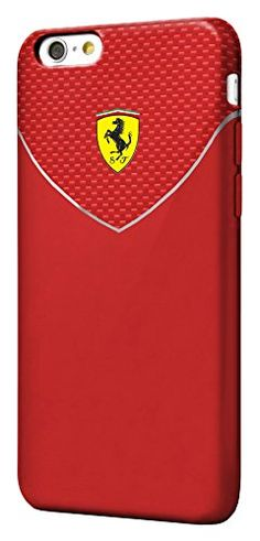 nice Real Ferrari - Racing Case/Cover - iPhone 6 - red  Ferrari is a famous automotive brand that can be best described as one that passionately pursues perfection. Since 2011, CG Mobile has meticulously de... http://mobileclone.com.au/cell-phones-mp3-players/cell-phone-accessories/cases-covers/real-ferrari-racing-casecover-iphone-6-red/