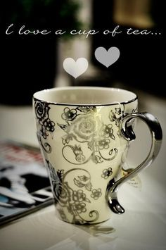 Sit back and relax with a cup of premium tea from TheSunGarden.com