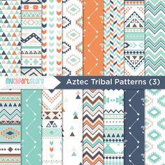 Bohemian Tribal Clipart Bundle 3 Native American I Aztec Tribal Patterns, Graphic Patterns, Geometric Patterns, Microsoft Word, Clipart, Navajo, Adobe Illustrator, Software, Cricut