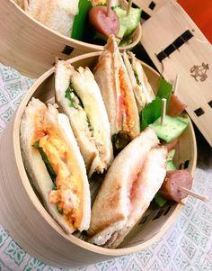 posted by @himuka_hanohano 食パンが沢山あったから☆ホットサンド☆ 冷めても美味しいんだよね〜#obentoart