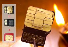 Новыйl Cимка и карточка памяти - Как установить в один слот?