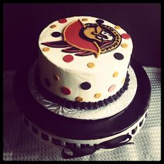 Second Generation Cake Design ~ Ottawa Senators Birthday Cake