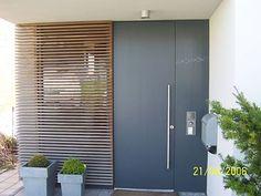 eingangs berdachung vordach f r haust ren von siebau h user pinterest. Black Bedroom Furniture Sets. Home Design Ideas