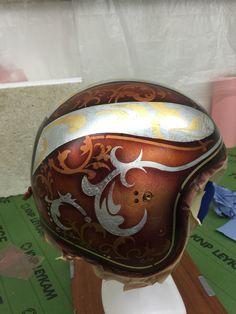 Helm Blattgold Blattsilber