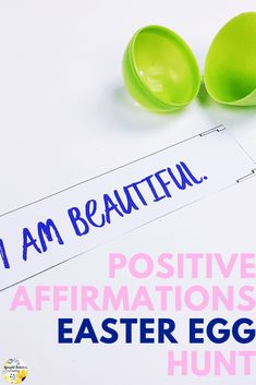 Help students identify positive affirmations to increase their self-esteem in this Easter activity. Can be used with a school counseling small group, individual session, or classroom guidance lesson. Elementary School Counselor, School Counseling, Elementary Schools, Self Esteem Activities, Counseling Activities, Easter Activities, Summer Activities, Career Quotes, Success Quotes