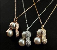 2016 Charm Women Chokers Fresh Water Pearl Peanuts Necklaces Jewelry Gifts For Her From Janet521, $3.52 | Dhgate.Com